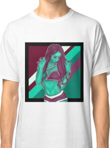 Sasha Banks // Green Purple Classic T-Shirt