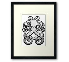 Inkpen Octopus Framed Print