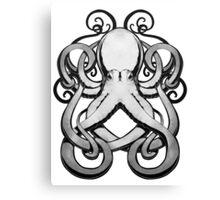 Inkpen Octopus Canvas Print