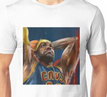 Lebron James Painting Unisex T-Shirt