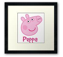 Peppa Pig Framed Print
