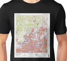 USGS TOPO Map Alabama AL Birmingham North 303240 1959 24000 Unisex T-Shirt