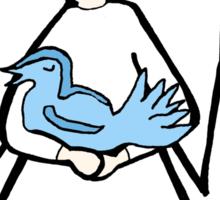 Angel Bird Sticker