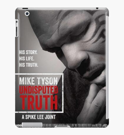 Mike Tyson TV Poster iPad Case/Skin