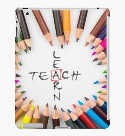 Teach Learn iPad Case/Skin