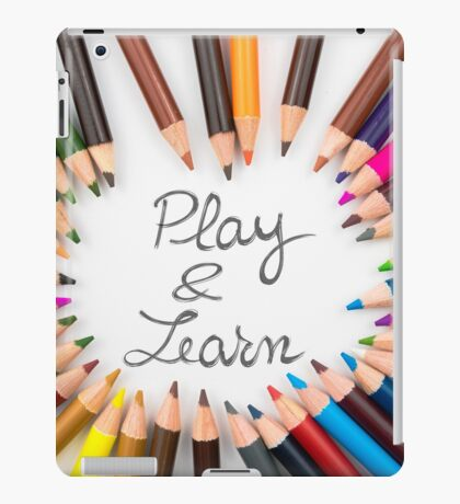 Play and Learn iPad Case/Skin