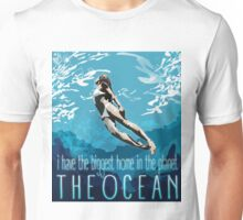 I Have The Biggest Home, The Ocean Unisex T-Shirt