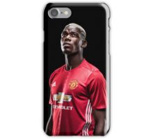paul pogba MU iPhone Case/Skin