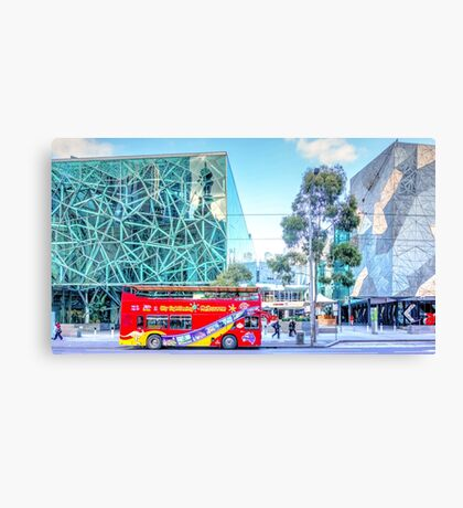 Sightseeing Melbourne - Melbourne, Victoria Canvas Print