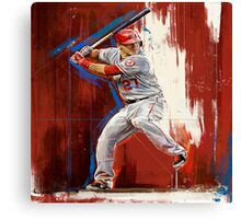 Mike Trout - Los Angeles Angels Canvas Print