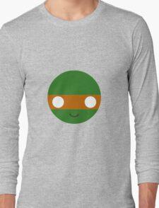 Michelangelo - Circley! Long Sleeve T-Shirt