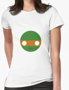Michelangelo - Circley! Womens Fitted T-Shirt