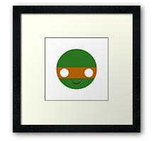 Michelangelo - Circley! Framed Print