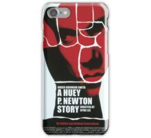 Huey Newton TV Poster iPhone Case/Skin
