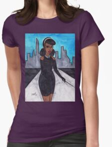 Breakfast with Julie Womens Fitted T-Shirt