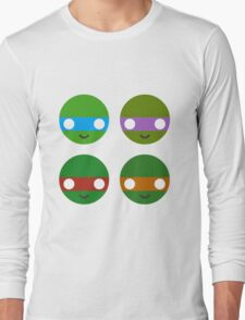 TMNT - Circley! Long Sleeve T-Shirt