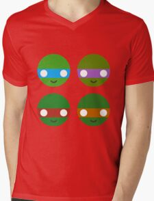 TMNT - Circley! Mens V-Neck T-Shirt