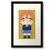 Pixel Rin Framed Print