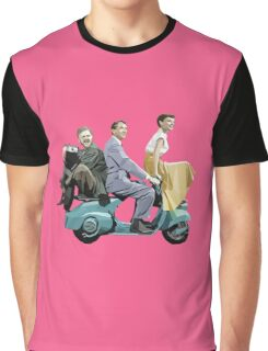 Audrey Hepburn: Roman Holiday Graphic T-Shirt