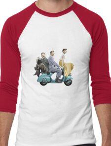 Audrey Hepburn: Roman Holiday Men's Baseball ¾ T-Shirt