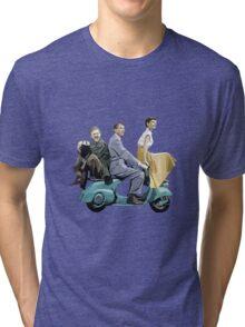 Audrey Hepburn: Roman Holiday Tri-blend T-Shirt