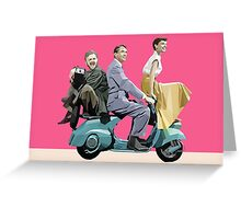 Audrey Hepburn: Roman Holiday Greeting Card