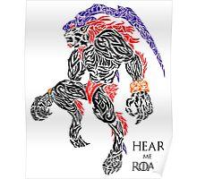 Hear Me Roar - Ifrit Poster