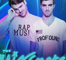 THE CHAINSMOKERS Sticker