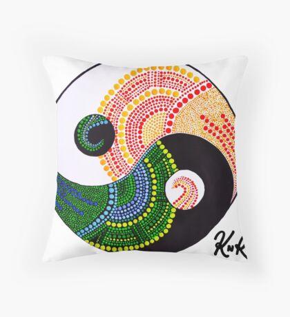 Yin & Yang Throw Pillow