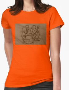 The Jazz Trio Womens Fitted T-Shirt