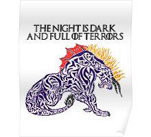 Behemoth - The Night is Dark Poster