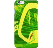 Green Subway Background iPhone Case/Skin