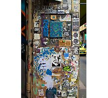 Centre Place Sticker Wall Photographic Print