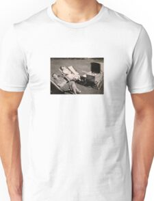 The relaxed attitude to parenting in the 1930s. Unisex T-Shirt
