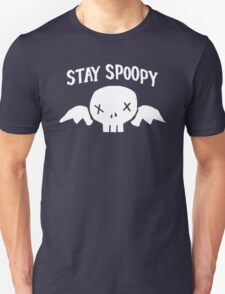 Stay Spoopy (White) Unisex T-Shirt