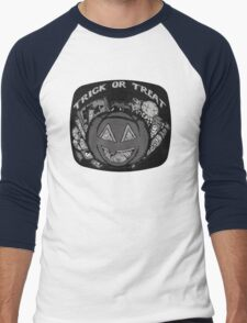 Trick or Treat TV Men's Baseball ¾ T-Shirt
