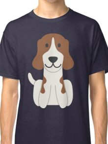 Beagle Illustration Classic T-Shirt