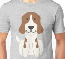 Beagle Illustration Unisex T-Shirt