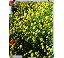 A different slant on Spring iPad Case/Skin