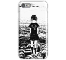 Girl by the Sea - By The Sea iPhone Case/Skin