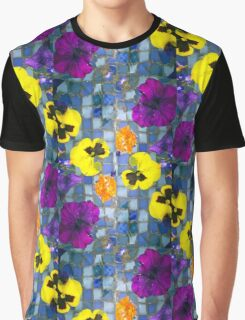 Floating Flowers Graphic T-Shirt