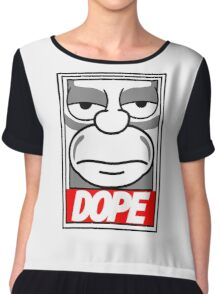 Dope - The Simpsons Chiffon Top