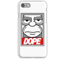 Dope - The Simpsons iPhone Case/Skin