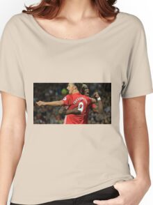 zlatan ibrahimovic and paul pogba celebration Women's Relaxed Fit T-Shirt