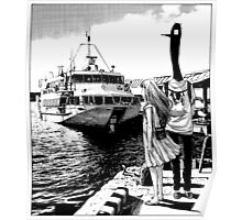 Punpun - By the Sea Poster