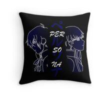 Persona MC 3 & 4 Throw Pillow