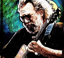 """Jerry Garcia- """"Birdsong"""" Grateful Dead image by OnePeaceTees"""