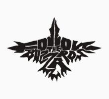 Follow The Buzzards - Black Logo One Piece - Short Sleeve