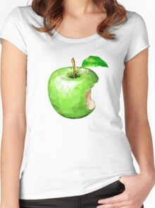 Apple Crystal Women's Fitted Scoop T-Shirt