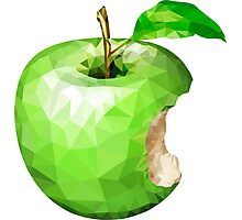 Apple Crystal Photographic Print